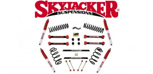 "Skyjacker 4"" lift kits"