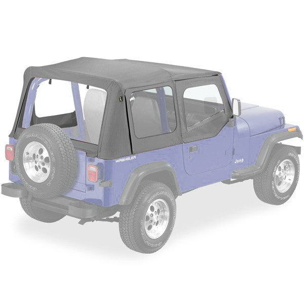 Pe Soft Top Replay Charcoal 51130 09 A1 Mc 5046 Jeep