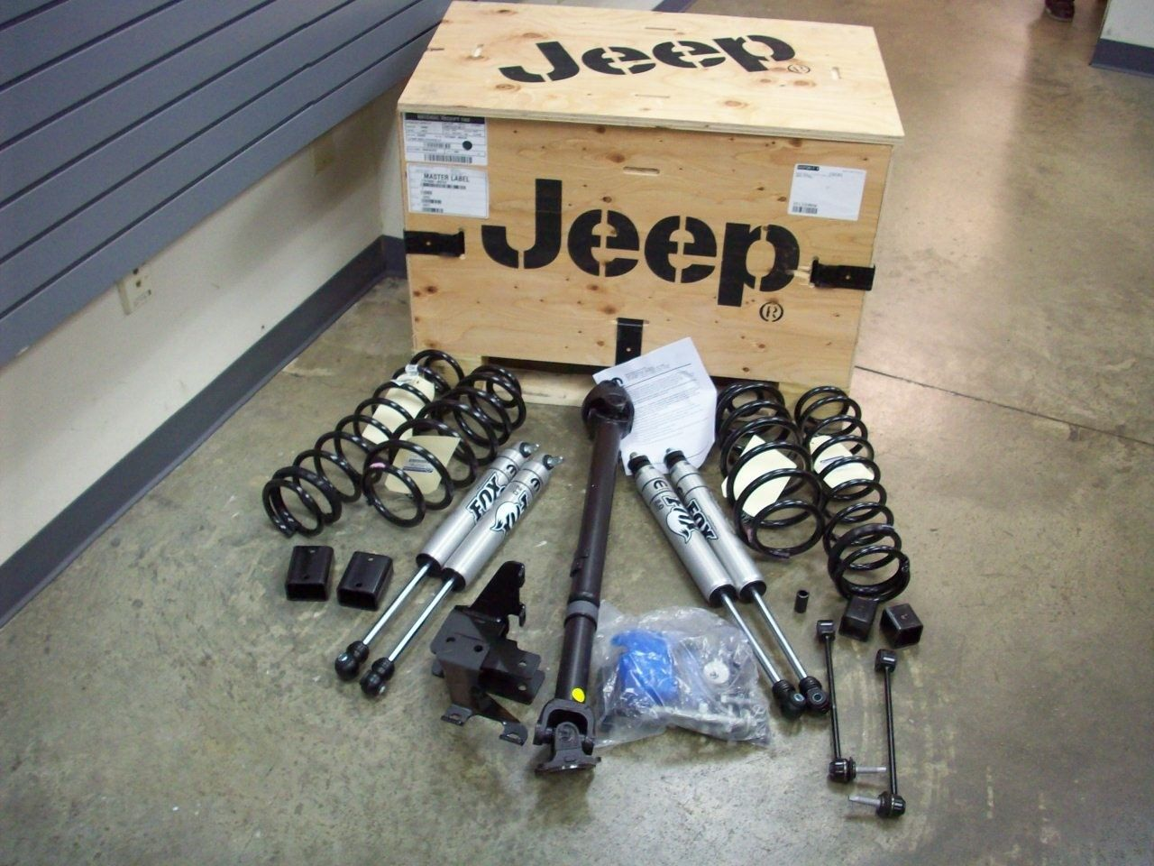 Mopar Stage 1 Lift Complete Jeep Wrangler Parts
