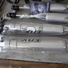 Mopar Stage 1 fox shocks