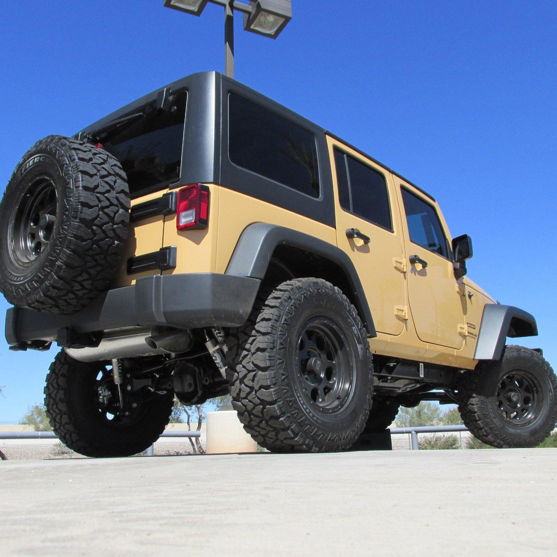 Tan Rear Jeep Wrangler Parts