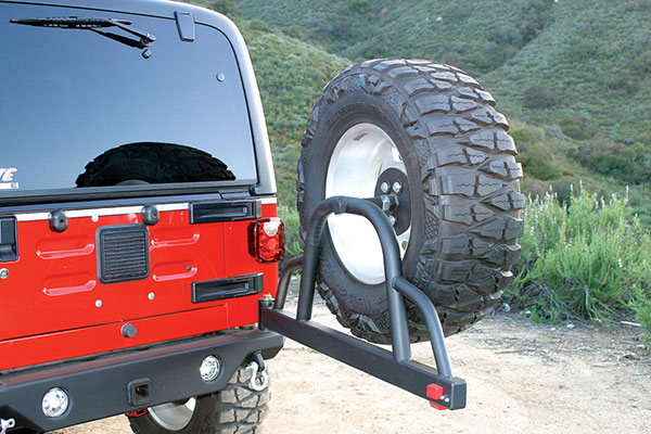 Rampage Jeep Recovery Bumper 76610 1 Jeep Wrangler Parts