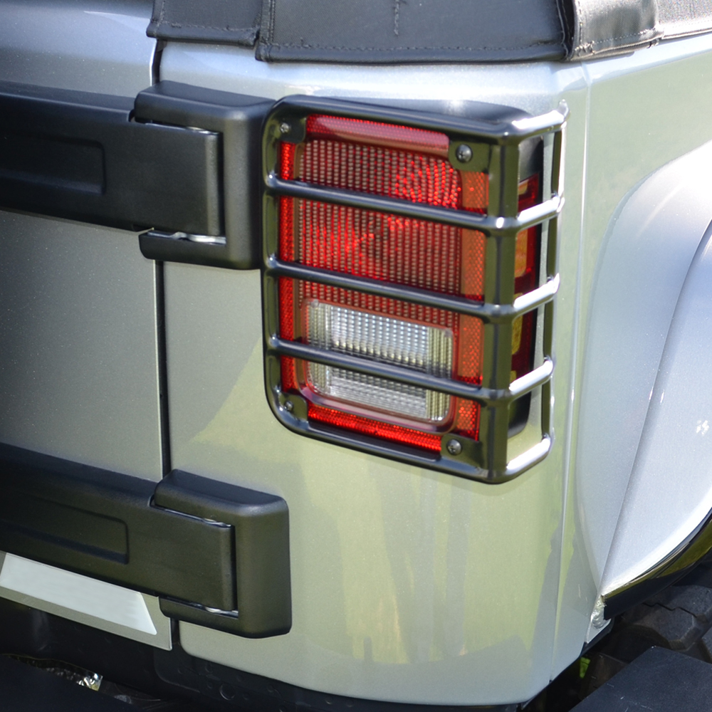 Taillight Guards Jeep Wrangler Parts