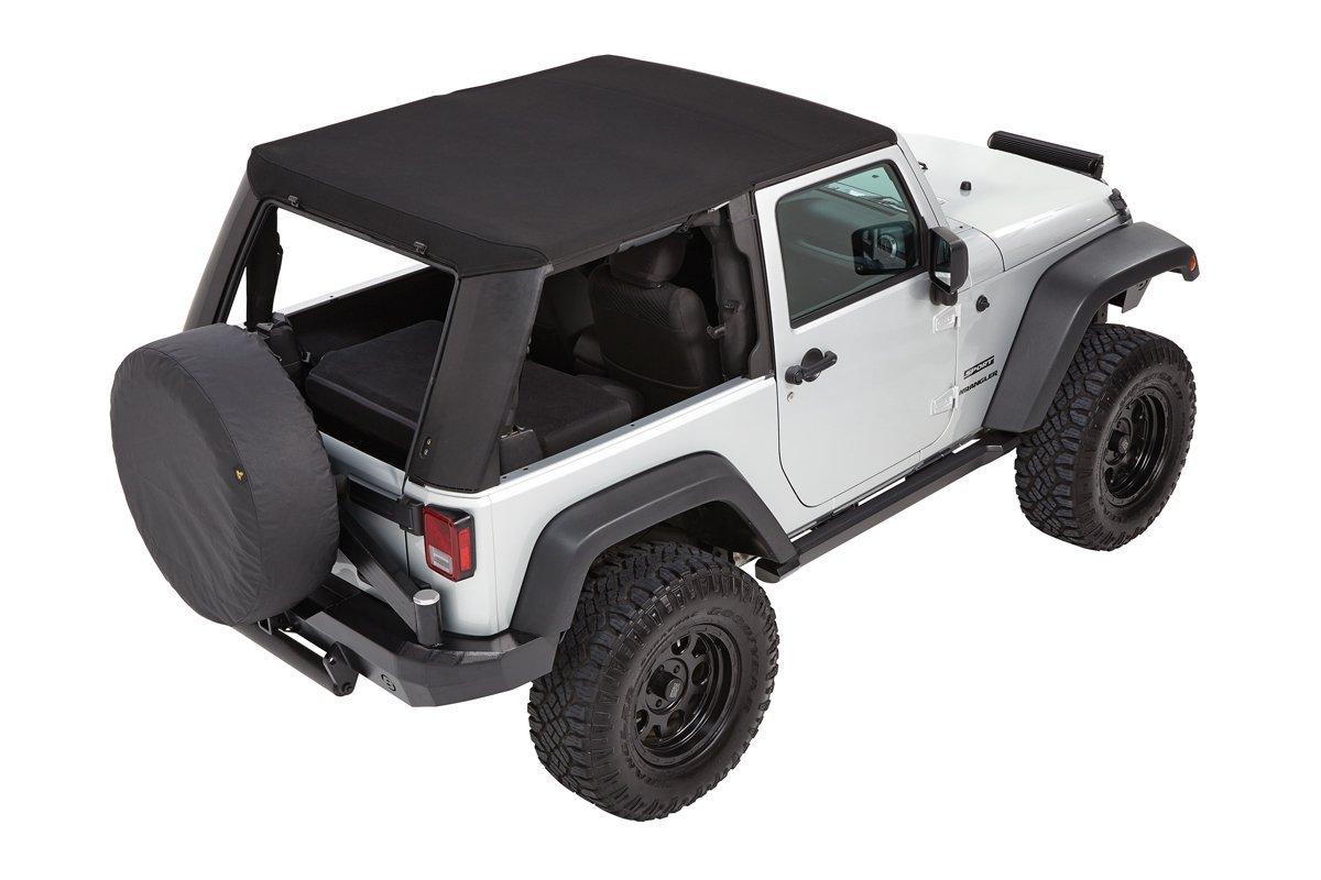 Bestop Trektop Pro Hybrid 2 Door Back Jeep Wrangler Parts