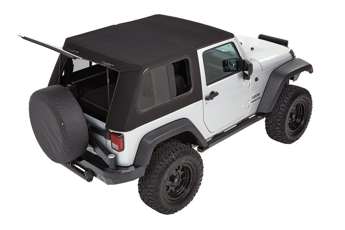 Bestop Trektop Pro Hybrid 2 Door Rear Jeep Wrangler Parts
