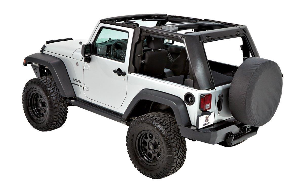 Jeep Wrangler Body Armor >> Bestop-Trektop-Pro-Hybrid-2-door-windows-out - Jeep ...