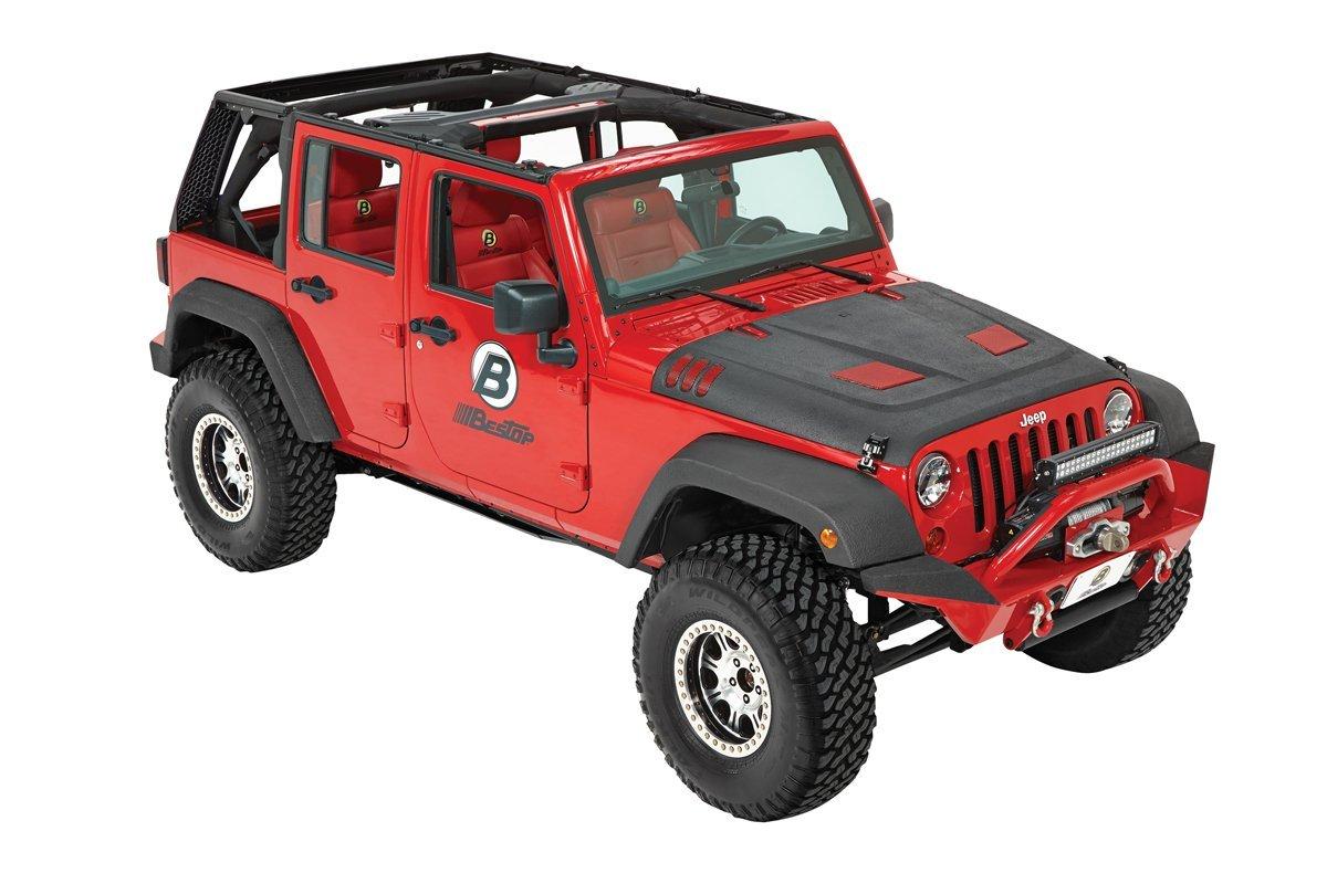 bestop trektop pro hybrid 4 door profile jeep wrangler parts. Black Bedroom Furniture Sets. Home Design Ideas