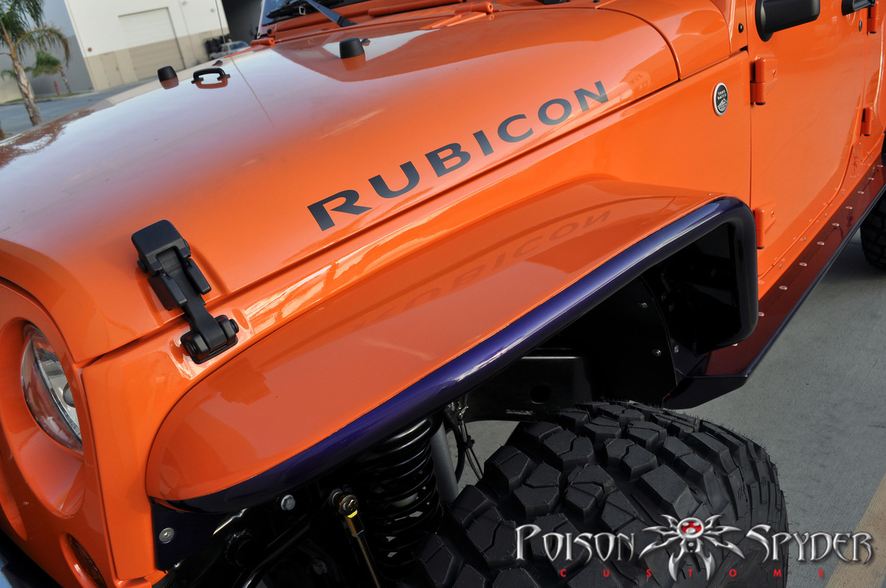 Poison Spyder Fenders Front Jeep Wrangler Parts