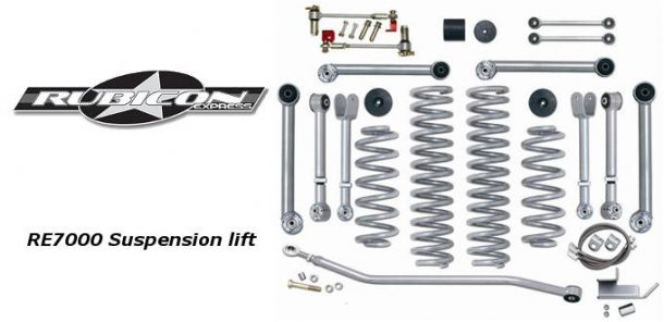Rubicon Express RE7000 Super-Flex Short Arm Lift