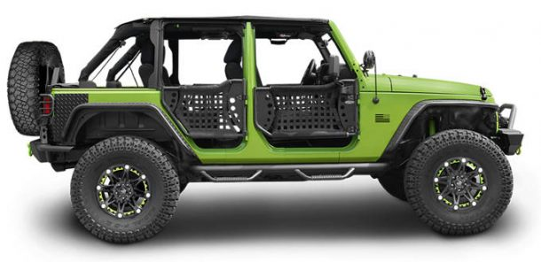 Jeep JK body armor and protection