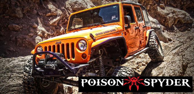 Poison Spyder JK fenders