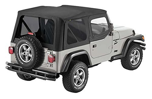Pavement Ends TJ Soft Top - Black Denim