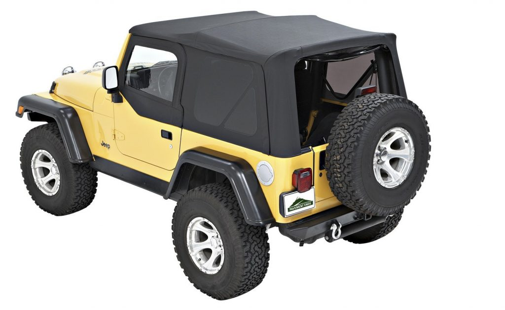 Pavement Ends TJ Soft Top - Black Diamond
