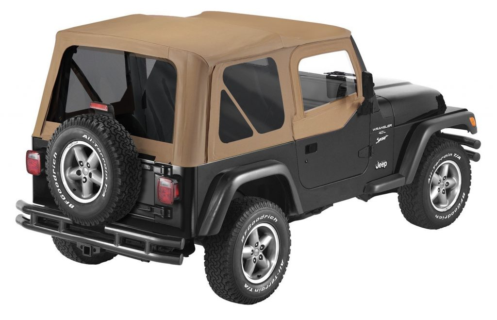 Pavement Ends TJ Soft Top - Spice