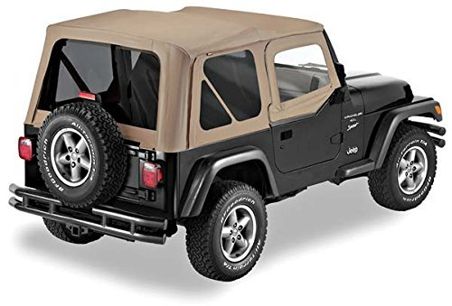 Pavement Ends TJ Soft Top - Tan
