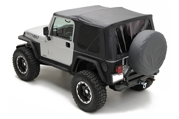 Smittybilt YJ Soft Top - Black
