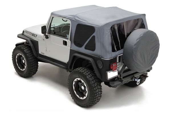 Smittybilt YJ Soft Top - Gray