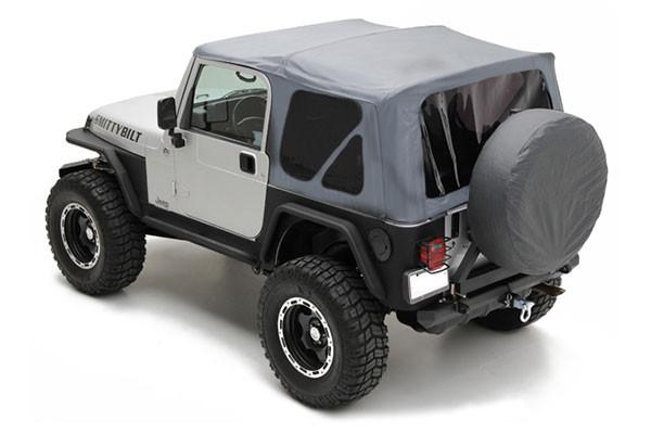 Smittybilt Yj Soft Top Gray Jeep Wrangler Parts