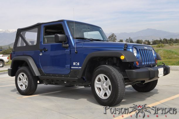 Poison Spyder Brawler Rockers for 2 Door JKs