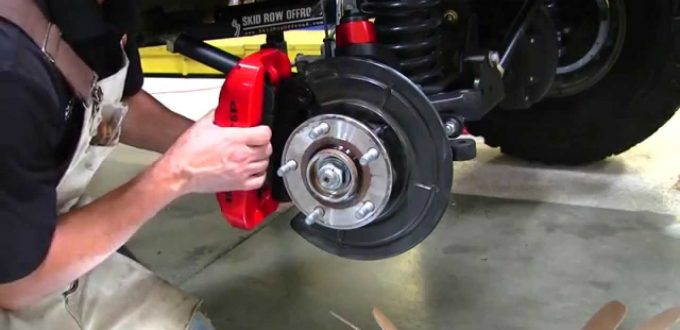 Brake upgrades for the Jeep Wrangler JK