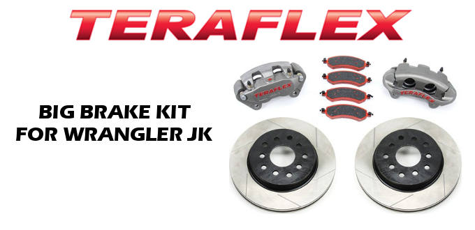 Teraflex Big Brake Kit