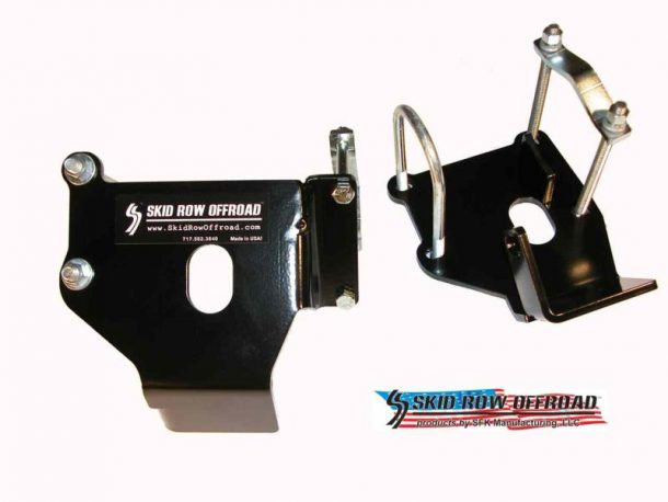 Skid Row control arm skid plate