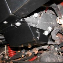 Skid Row Steering Box Skid Plate