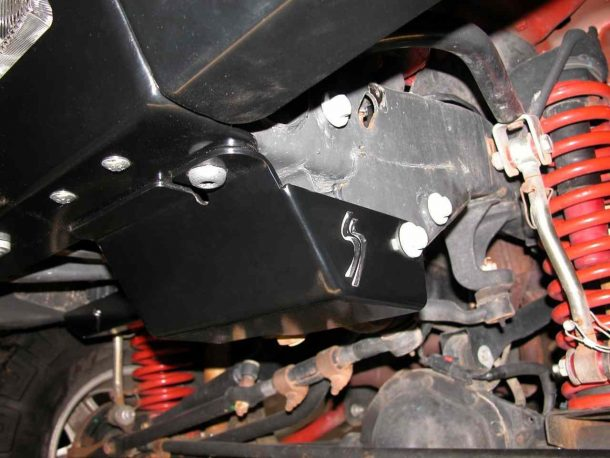 Skid Row Steering Box Skid Plate
