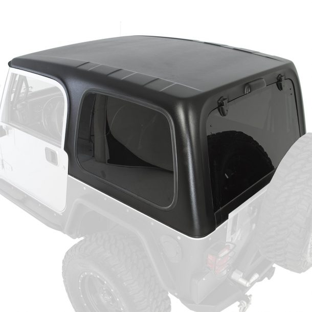 Smittybilt 519701 1 Piece HardTop with Tinted Windows