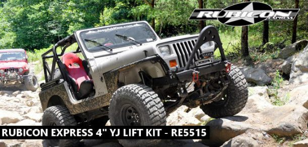 "Rubicon Express 4"" YJ lift kit review"