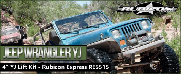 "Rubicon Express 4"" lift kit"