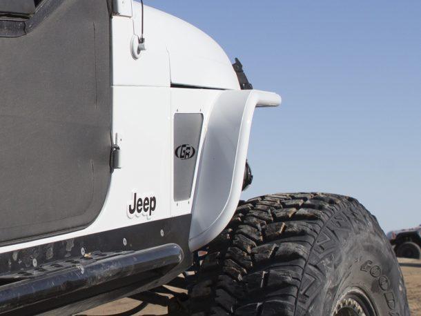 Gen-Right Jeep TJ Tube Fenders