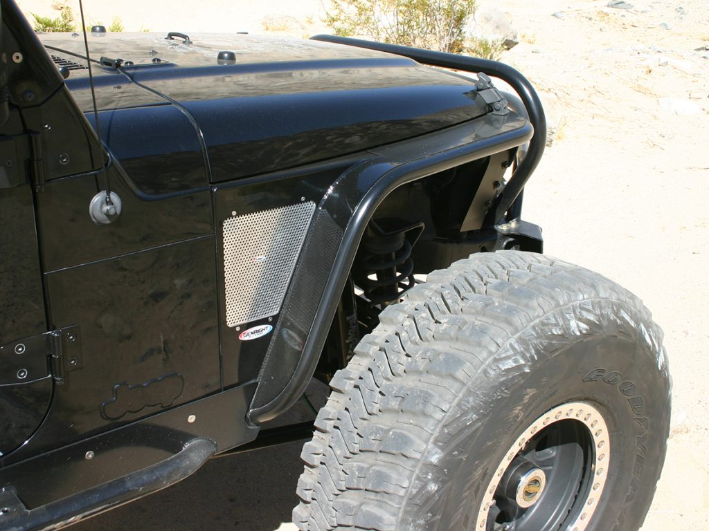Gen-Right TJ tube fenders
