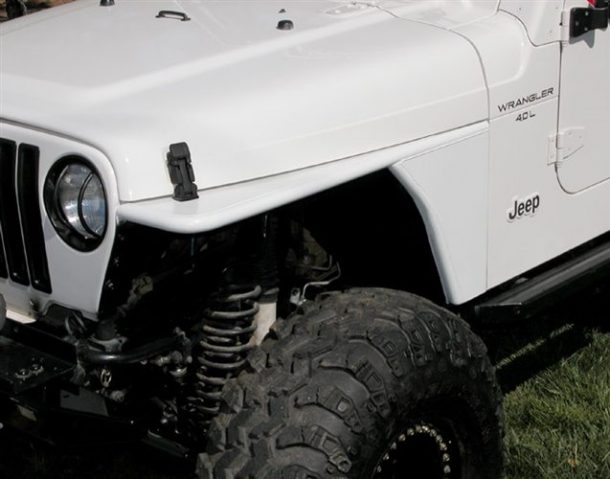 Rugged Ridge TJ Tube Fenders