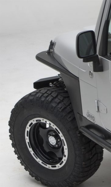 Smittybilt Jeep TJ tube fenders